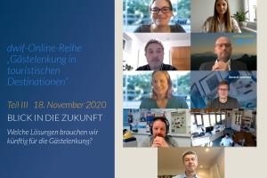 """dwif """"Gästelenkung in touristischen Destinationen"""": Ein Blick in die Zukunft"""