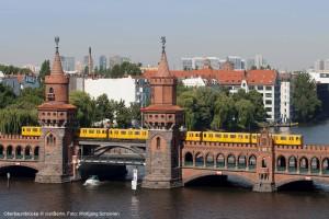 dwif und HU Berlin legen Studie zum Tourismuskonzept Berlin 2018+ vor – Konzept soll im Frühjahr veröffentlicht werden (Oberbaumbrücke © visitBerlin, Foto: Wolfgang Scholvien)