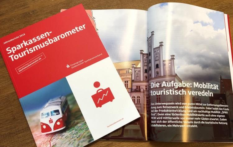 dwif: Sparkassen-Tourismusbarometer Ostdeutschland 2019: Länderveranstaltungen zur Mobilität im Tourismus starten
