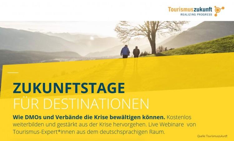 dwif: 1. Zukunftstag für Destinationen: Unser Rückblick auf die einzelnen Sessions (Bild: Tourismuszukunft)