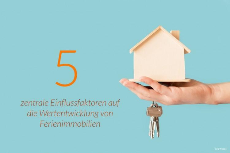 dwif-Marktforschung: Zentrale Einflussfaktoren auf die Wertentwicklung von Ferienimmobilien (Bild: freepik)
