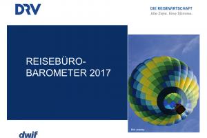 dwif: Aktuelles DRV-Reisebürobarometer veröffentlicht