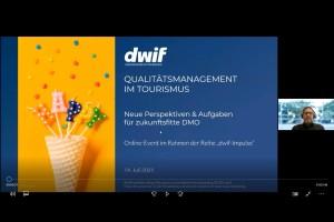 dwif-Impulse: Qualitätsmanagement im Tourismus – Neue Perspektiven & Aufgaben für zukunftsfitte DMO